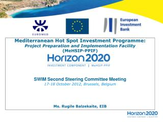 Mediterranean Hot Spot Investment Programme: Project Preparation and Implementation Facility