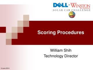 Scoring Procedures