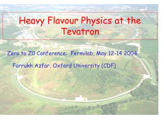 Heavy Flavour Physics at the Tevatron