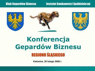 Konferencja Gepard�w Biznesu