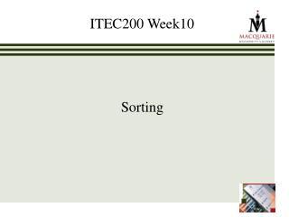 ITEC200 Week10