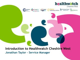 Introduction to Healthwatch Cheshire West