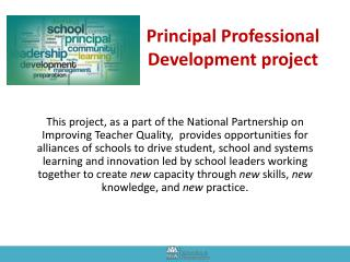 Principal Professional Development project