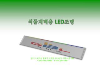 식물재배용  LED 조명