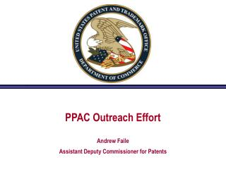 PPAC Outreach Effort