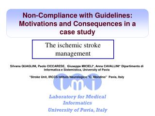 Non-Compliance with Guidelines: Motivations and Consequences in a case study