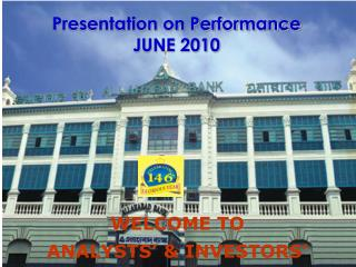 Presentation on Performance  JUNE 2010