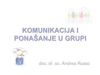 doc. dr. sc. Andrea Russo