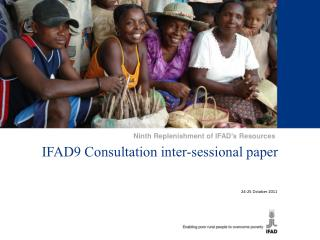 IFAD9 Consultation inter-sessional paper