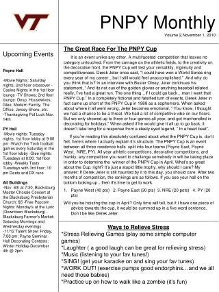 PNPY Monthly Volume 2,November 1, 2010