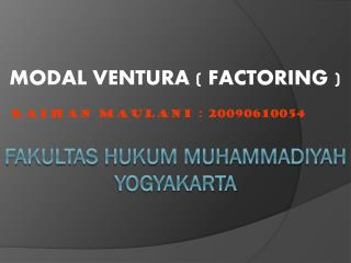 Fakultas hukum muhammadiyah yogyakarta
