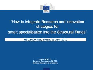 """How to integrate Research and innovation strategies for"