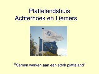 Plattelandshuis  Achterhoek en Liemers