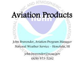 Aviation Products