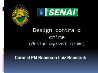 Design contra o crime ( Design against crime)