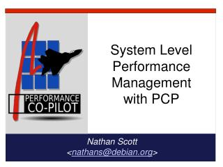 System Level Performance Management with PCP