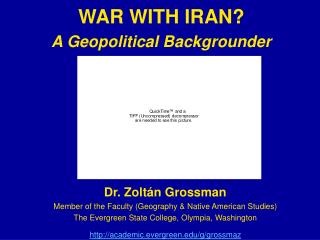 WAR WITH IRAN? A Geopolitical Backgrounder
