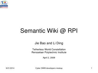 Semantic Wiki @ RPI