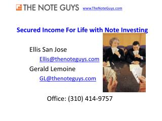 Secured Income For Life with Note Investing