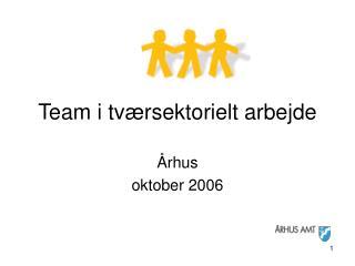 Team i tværsektorielt arbejde