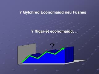 Y ffigar-êt economaidd ...