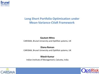 Long Short Portfolio Optimisation under Mean-Variance-CVaR Framework