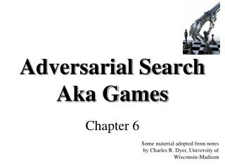 Adversarial Search Aka Games