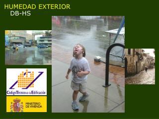 HUMEDAD EXTERIOR  DB-HS