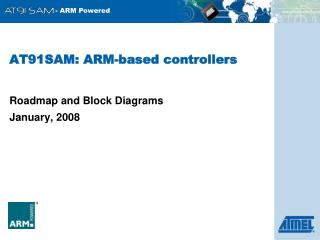 AT91SAM: ARM-based controllers