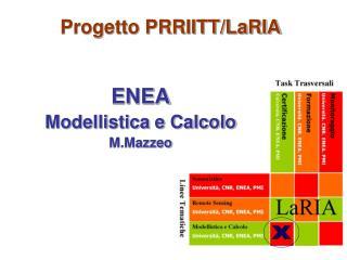 Progetto PRRIITT/LaRIA