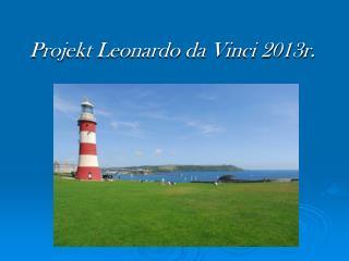 Projekt Leonardo da Vinci 2013r.