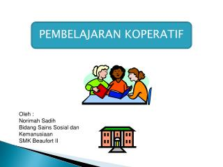 Oleh : Norimah Sadih Bidang Sains Sosial dan Kemanusiaan SMK Beaufort II