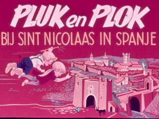 Pluk en Plok bij Sint Nicolaas in Spanje met geluid