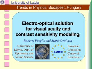 Trends in Physics, Budapest, Hungary