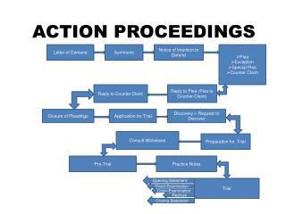 ACTION PROCEEDINGS