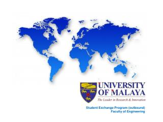 Student Exchange Program (outbound) Faculty of Engineering