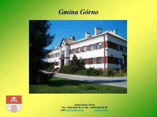 Gmina Górno