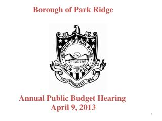 Borough of Park Ridge