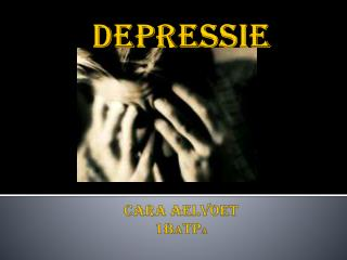 Depressie cara  aelvoet 1B A TP a