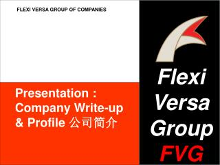 Flexi Versa Group FVG