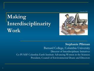 Making  Interdisciplinarity Work