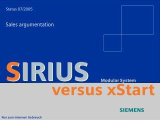 versus xStart