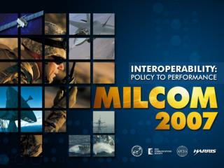 Defense Forum: Coalition and Joint Interoperability