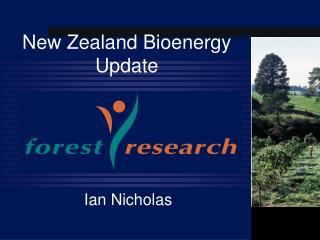 New Zealand Bioenergy Update