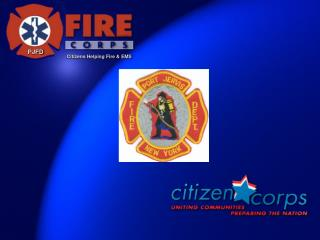 Citizens Helping Fire & EMS