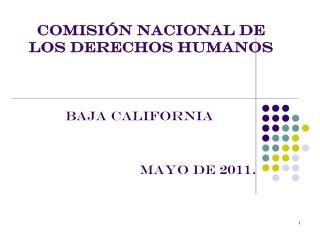 COMISI�N NACIONAL DE LOS DERECHOS HUMANOS
