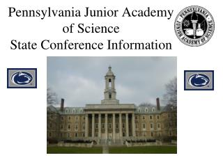 Pennsylvania Junior Academy  of Science State Conference Information