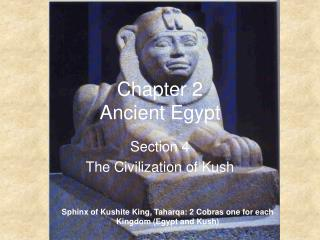Chapter 2  Ancient Egypt