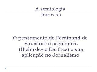 Constituição do signo para Saussure (1857-1913):