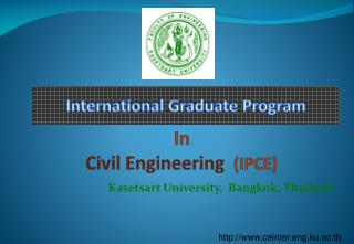 In Civil Engineering (IPCE)